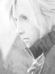 Cloud Strife II by Akiza-chan18