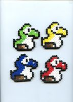 Baby Yoshi's by Frost-Claw-Studios