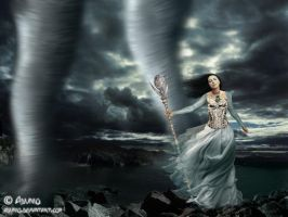 Queen of wind by adunio