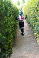 On my way by Lucille-Winged