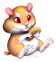 Happy hamster by Bestary