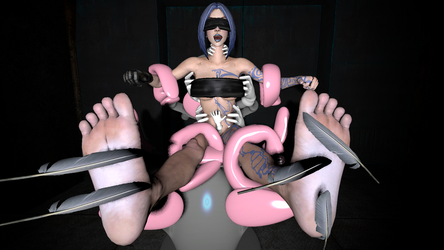 Tickles from the Borderlands: Screaming Siren Maya by alienvs