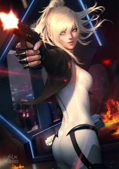 A little more action by raikoart