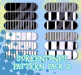 Screentones Pattern Pack 2 by Kita-Angel