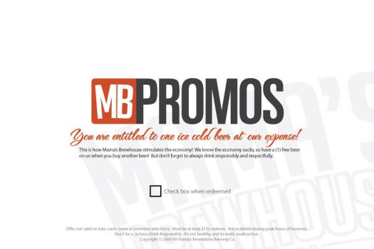 MBPromos Direct Mail Piece v1 by mattnagy