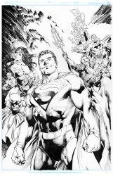 Man Of-Steel REYES INKS by JimmyReyes