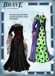 Brave Paper Doll Dresses Page 1 by Cecilia-Pekelharing