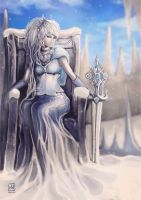 IceQueen by MYuee