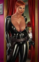 black widow - champagne room by lee-kalba