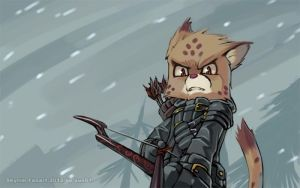The Cat of Skyrim by aun61
