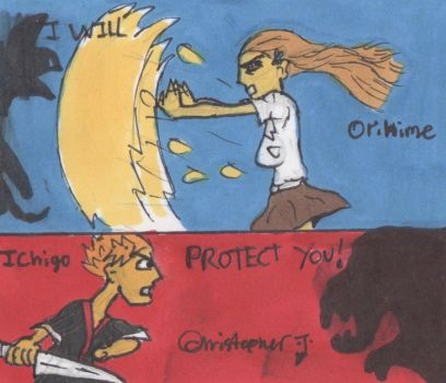Bleach: I Will Protect You (IchiHime) by rulkout1993