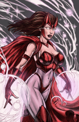 Scarlet Witch Colors by Nova-sama420