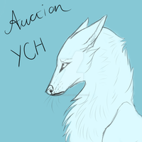 YCH - Stubborn Canine - Auction (OPEN) by BluuLeopard