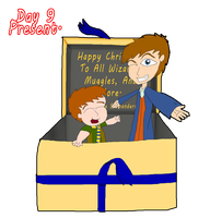 31 Days of Christmas:  Day 9 - Present by InvaderOfFandoms