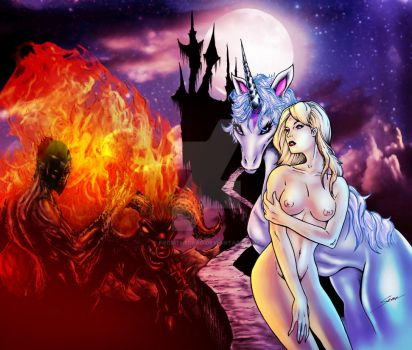 The Last Unicorn by fromthedead