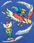 A Better Way to Fly - LoZ Shirt design by SarahRichford