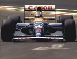 Nigel Mansell (Mexico 1992) by F1-history