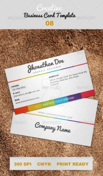 Creative-white-color-business-card-08 by ExtremeLogo