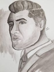 Sam Smith Portrait  by HarlieRoseDoodles