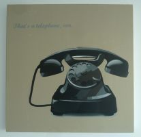 That's a telephone, son. by Bart-vd-hout