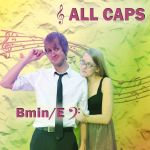 ALL CAPS Cover Design by moonlitmists