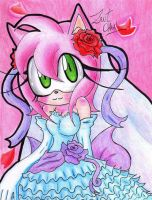 The new dress of Amy Rose. by ZantChan