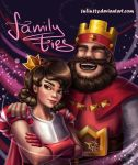 Family ties (Clash Royale fan art) [update] by 1NFIN1TY