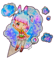 Cheap Chibi Adoptable - Cotton Candy [OPEN] by Yumii-chi