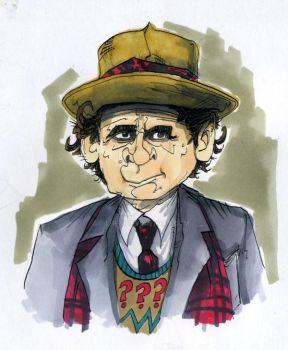 The Seventh Doctor by L-F-S