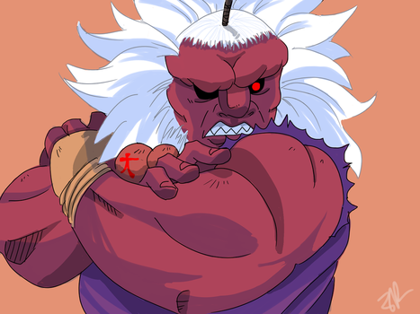 Sf5 Akuma by Spicy-karrotz