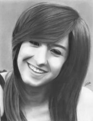 In Memory of Christina Grimmie   Drawing Tribute by Eddyvl