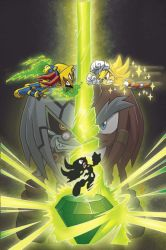 Sonic 184 cover by Yardley