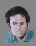 Willlem Dafoe color sketch by AyaneMatrix