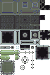 Spaceship Game - Tileset by 7Soul1