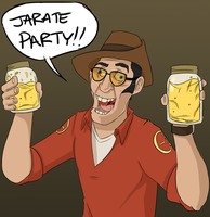 Jarate Party by JakeHarold
