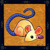 Vivid Mouse by ursulav