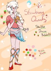 Strawberry Quartz Official Ref by SAtheWriter