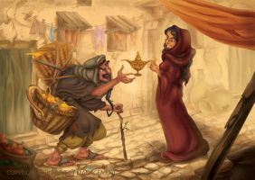 Aladdin and the Magic Lamp 2013 2 by RosieVangelova