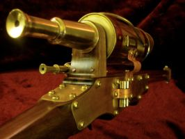 Steampunk Sniper Rifle 4 by steampunk22