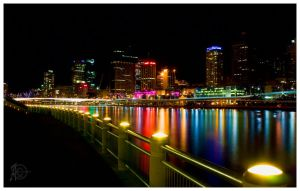 Brisbane Colours by AndrewJBladwell