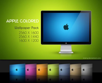 Apple Colored by miel-g