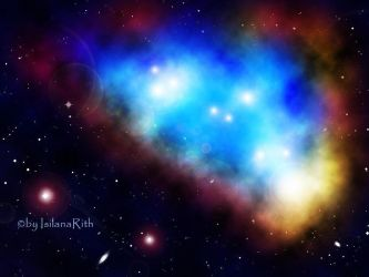 Blue Nebula 2 by IsilanaRith