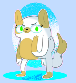 Cake the cat by Bubblegumteal