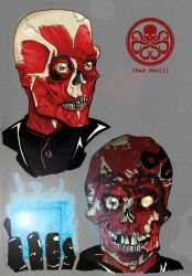 Red Skull Redesigns by ZachBobBob