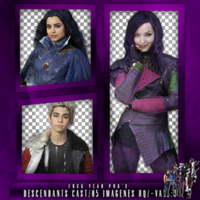 Pack PNG de Descendants Cast by iLightWonderful