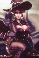 Witch Mercy by G21MM