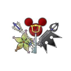 Keyblade Trinity by MichaelKnouff