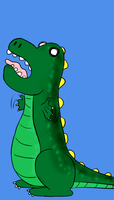 Dino colored by 11newells