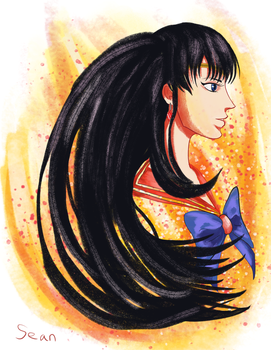Sailor Mars by tipsd9video