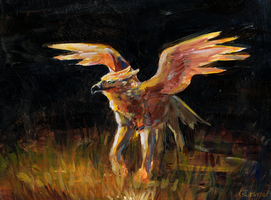 Gryph Painting by extorpid